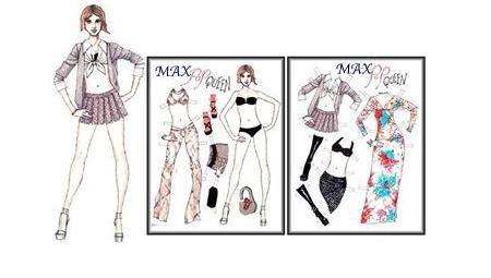 max paper doll