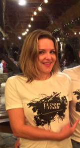 Kitty Sibille looking cute as hell in the TNSSG shirt yay!