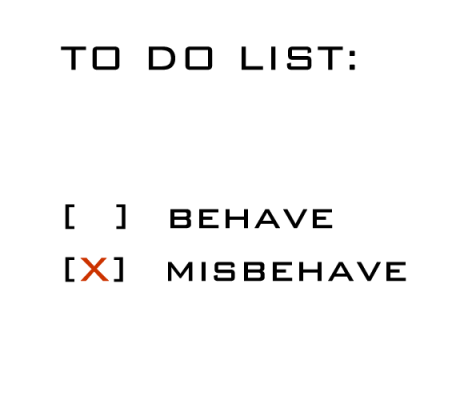misbehave_text