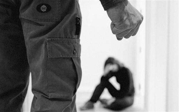 نتيجة بحث الصور عن A man hits a woman