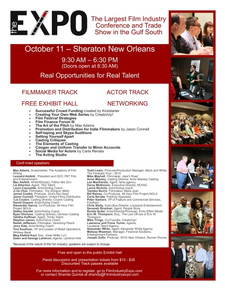 New Orleans Film Industry Expo
