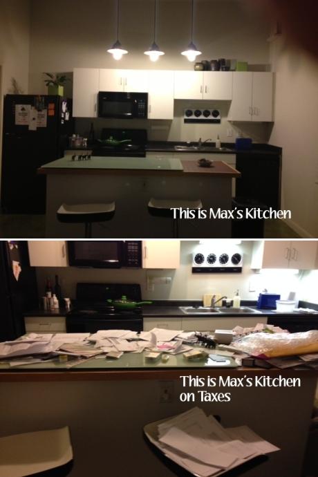 kitchen on taxes