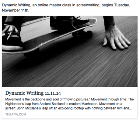 Dynamic Writing 11.11.14