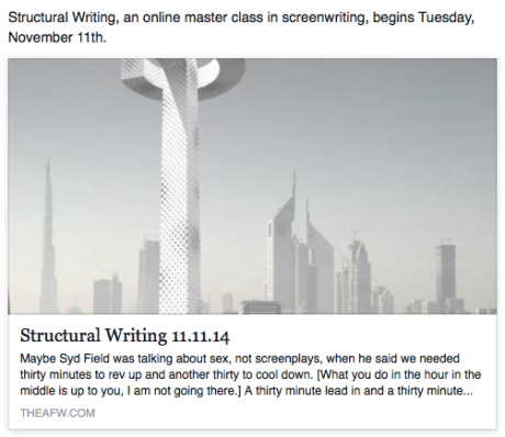 Structural Writing 11.11.14