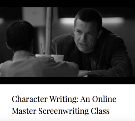 Character Writing: An Online Master Screenwriting Class