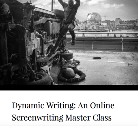 Dynamic Writing, an Online Master Screenwriting Class