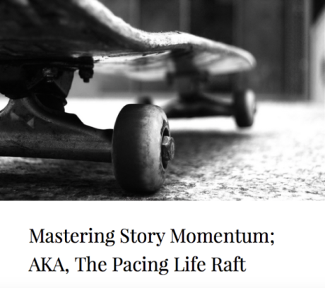 Momentum Writing: AKA The Pacing Life Raft