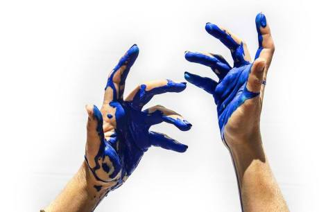 Hands of Blue
